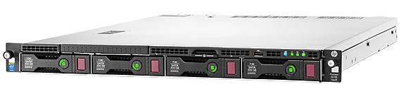 HPE ProLiant DL120 Gen9 configure-to-order rack server with eight DIMM slots and four large form factor drive bays